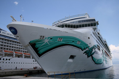 2008 - M/S NORWEGIAN JADE in Corfu.