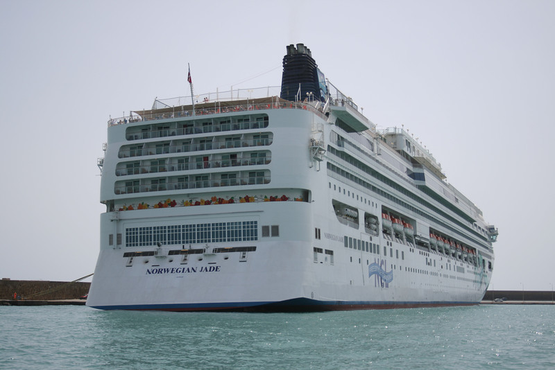 2008 - M/S NORWEGIAN JADE in Katakolon.