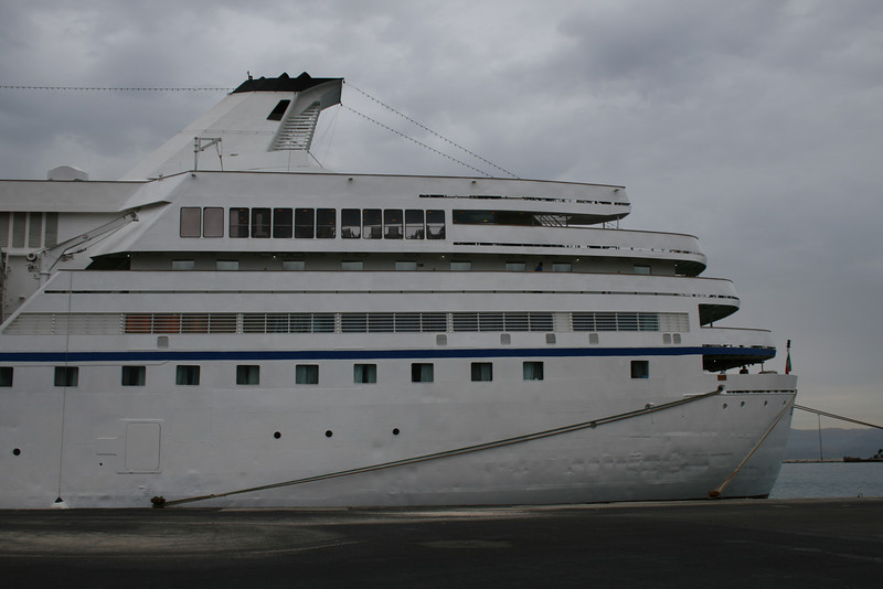 2010 - M/S OCEAN MAJESTY in Corfu.