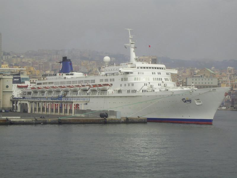 2007 - S/S OCEANIC in Napoli.
