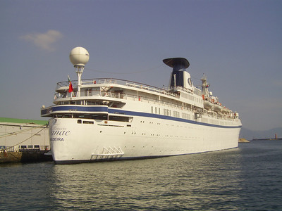 2008 - M/S PRINCESS DANAE in Napoli.
