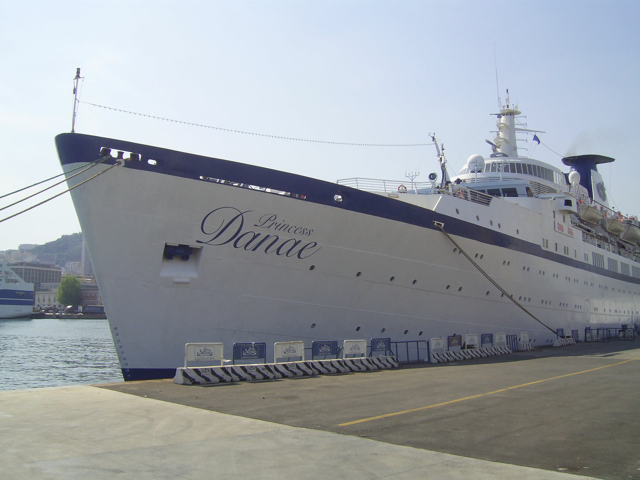 2008 - M/S PRINCESS DANAE in Napoli.
