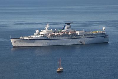 2010 - M/S PRINCESS DANAE offshore Capri.