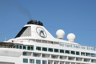 2009 - M/S PRINSENDAM in Napoli : funnel and logo.
