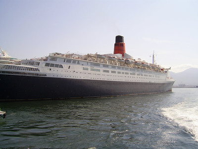 2007 - T/S QUEEN ELIZABETH 2 in Napoli.