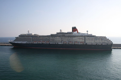 2009 - M/S QUEEN VICTORIA in Civitavecchia.