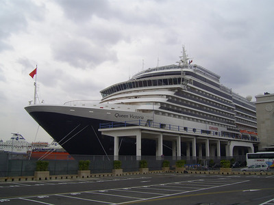 2008 - M/S QUEEN VICTORIA in Napoli.