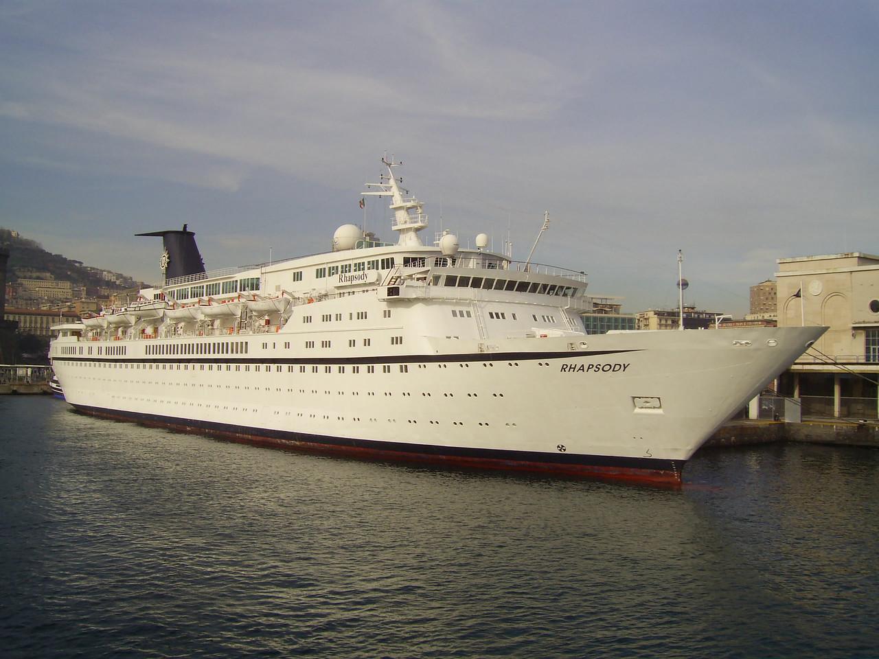 2007 - M/S RHAPSODY in Napoli.