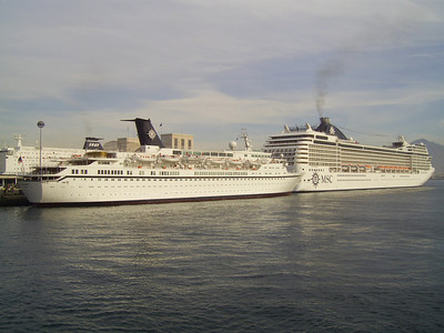 2007 - RHAPSODY and MSC MUSICA in Napoli.