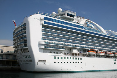 2010 - M/S RUBY PRINCESS in Napoli.