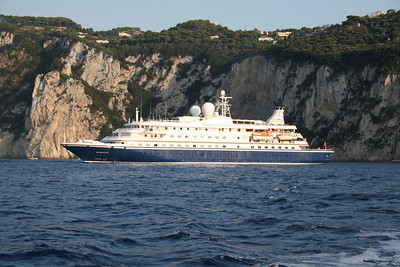 2008 - SEADREAM II offshore Capri.