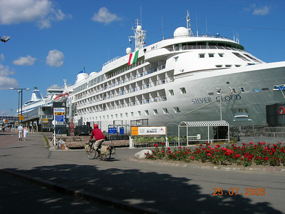 2006 - SILVER CLOUD in Helsinki.
