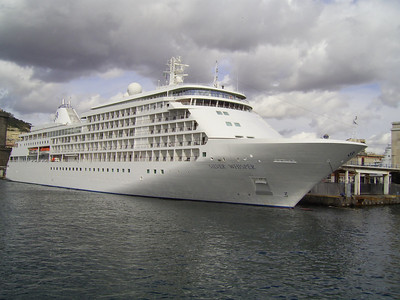2007 - SILVER WHISPER in Napoli.