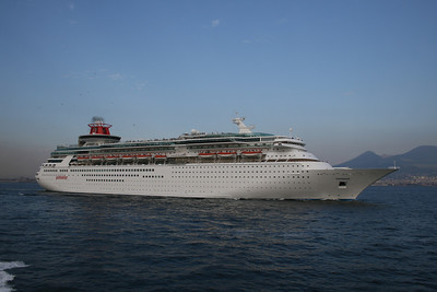 2010 - SOVEREIGN departed from Napoli.