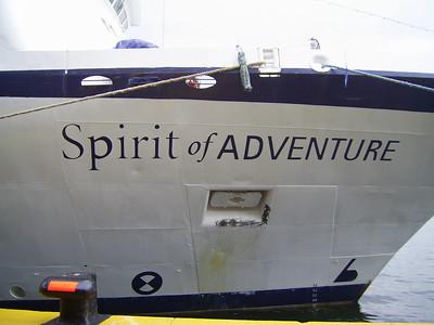 2010 - SPIRIT OF ADVENTURE in Napoli.