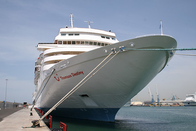 2008 - THOMSON DESTINY in Civitavecchia.