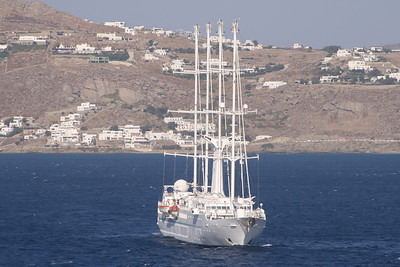 2009 - WIND SPIRIT offshore Mykonos.