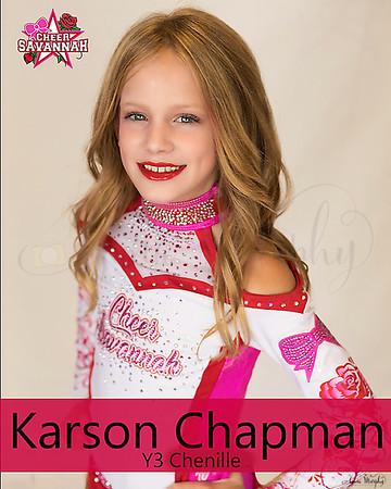 CS- Karson Chapman (Y3 Chanielle)