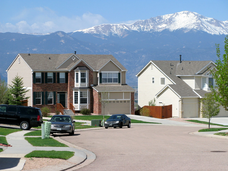 Our house in Colorado Springs.