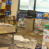 During the 2006 Kiholo Bay earthquake, ceiling tiles fell onto the desks and floors of the Waikoloa Elementary School; fortunately the quake occurred on a Sunday when school was not in session.