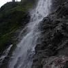 Waipio Waterfall looking up