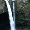 Rainbow Falls in Hilo on the Big Island is a popular spot; a telephoto lens shows details. Photo by Jose Luis Palma.