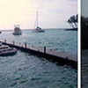 The tsunami that devastated Samoa in 2009 did virtually no damage to Hawaii, but produced dramatic effects at this pier in Kona. Photo sequence by Captain Kurt Bell.