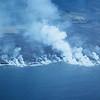 [P73] [R3/21/71] [D. A. S.] [Front of Kealakomo delta] [HI Eruptions Into Sea]