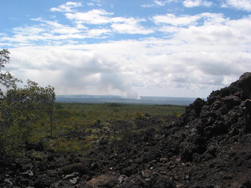 Plume of Halemaumau