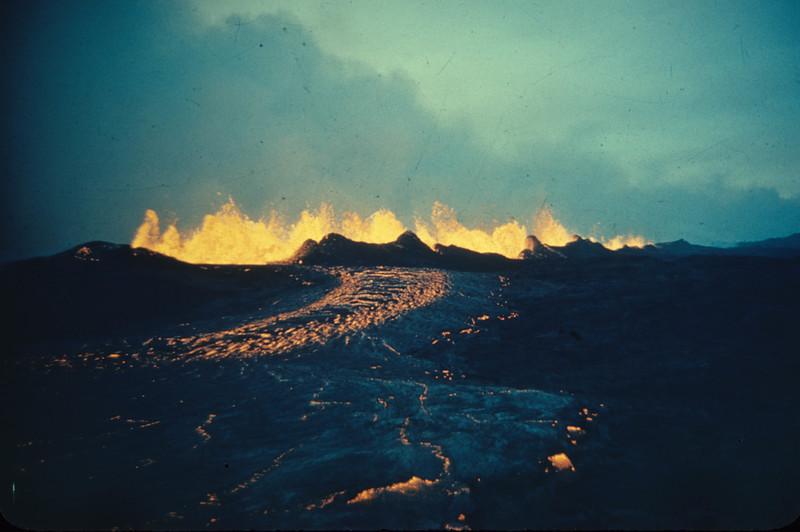 [Mauna Loa 1950 Lava River Hawaii National Park Island of Hawaii] [27] [HI Eruptions ML 49-50 Halemaumau 5 54]