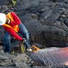 Eric samples lava