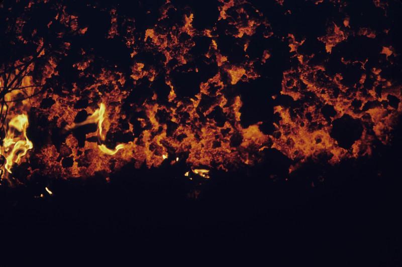 [P83] [R6/16/83] [U. S. Geological Survey Photo by J.D. Griggs] [HI Eruptions Puu Oo I]