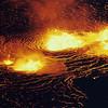 [1967 Lava Lake & Fountains in Halemaumau (Kilauea) National Park Service Photo by C.W. Stoughton] [HI Eruptions 60 Kapoho Halemaumau 6 67]