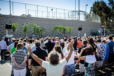 Easter Service and Celebration at Canyon Springs Church.