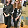 Karina Sotnik, Director of Business Incuabator at the Science Center and Blandine Chantepie-Kari , Director of Global Startup Accelerator (GSA)