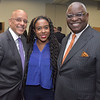 Senator Vincent Hughes, Tiffanie Stanard, CEO of Stimulus and Osagie Imasogie, PIPV Capital