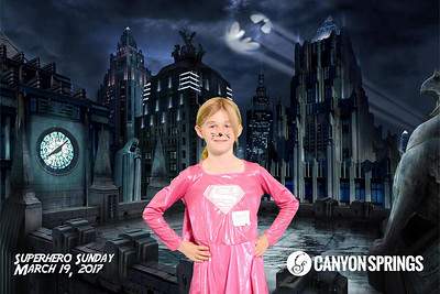 It was Superheros Day at Canyon Springs Church! Learn more at http://www.CanyonSprings.org
