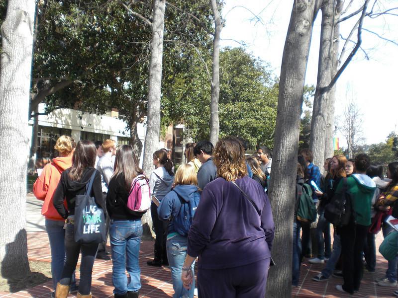 Tour at USC