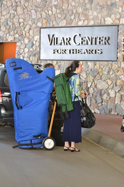 CSI_June18, 2015_Harp enters Vilar Center (2)
