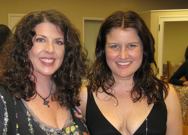 With Paula Cole after the show.