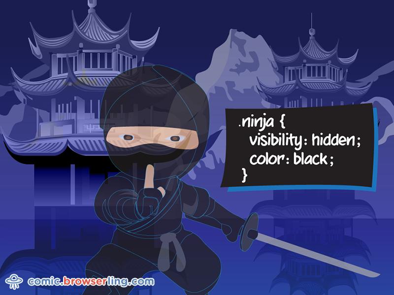 CSS Pun about Ninja