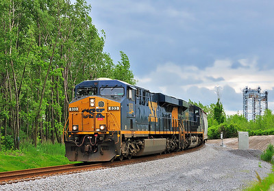 CN 326/CSXT Q621 Valleyfield Qc June 18 2014