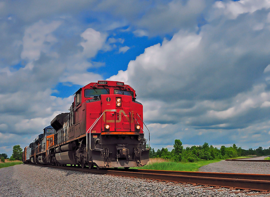 CN 327/ CSXT Q620 Valleyfield Qc