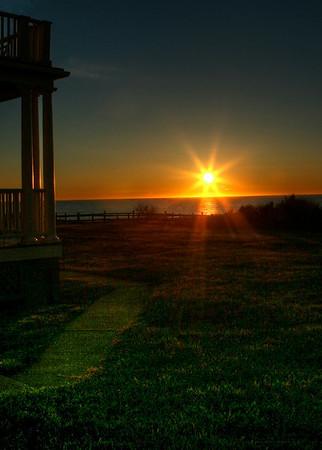 Sunrise Cape Cod - Coast Guard House