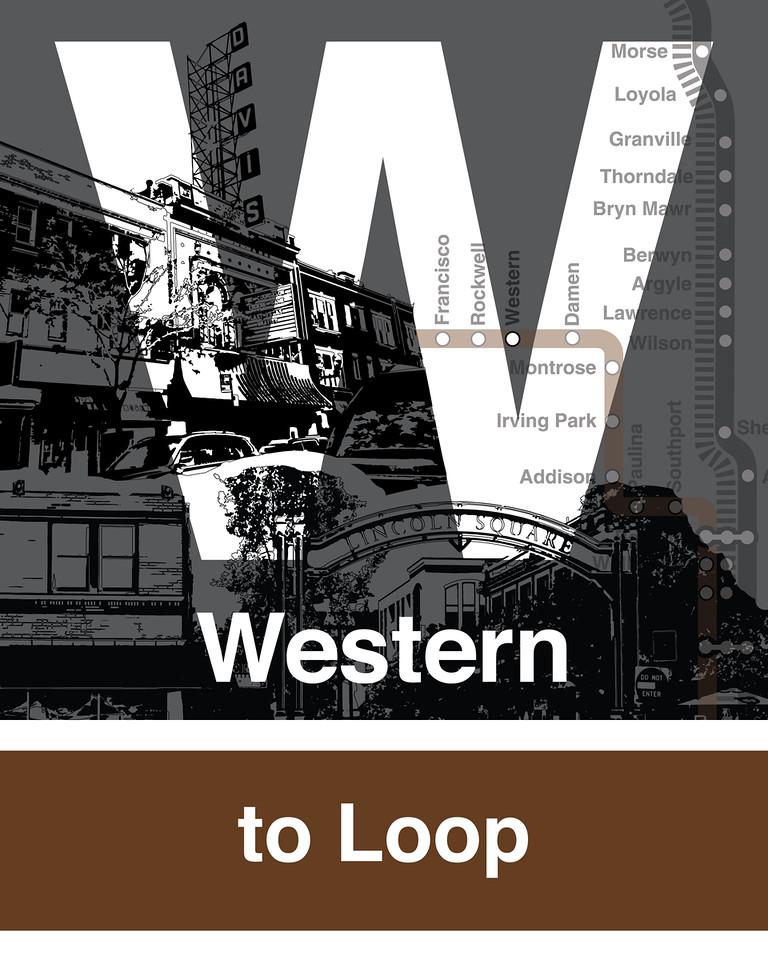 Western Brown Line