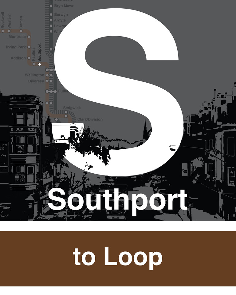 Southport Brown Line - Station