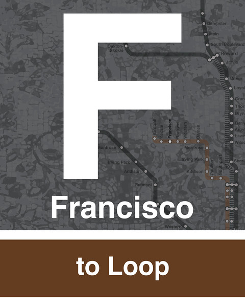 Francisco - Brown Line