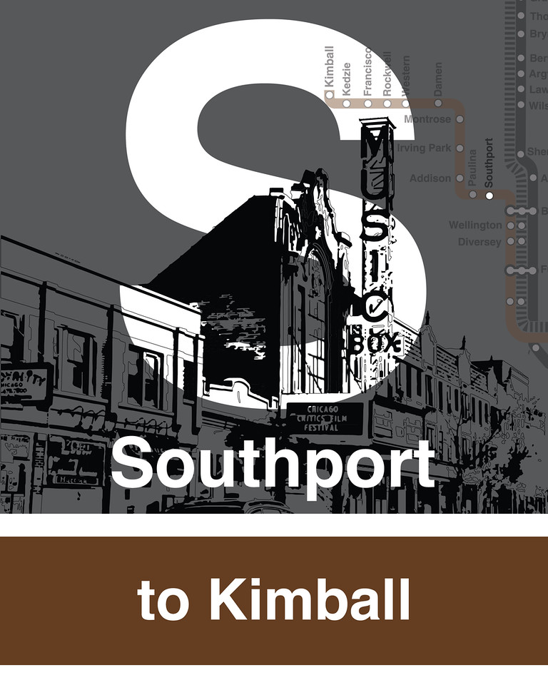 Southport Brown Line - Music Box