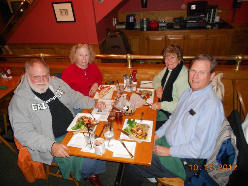 Dinner at Allisons in Kennebunkport