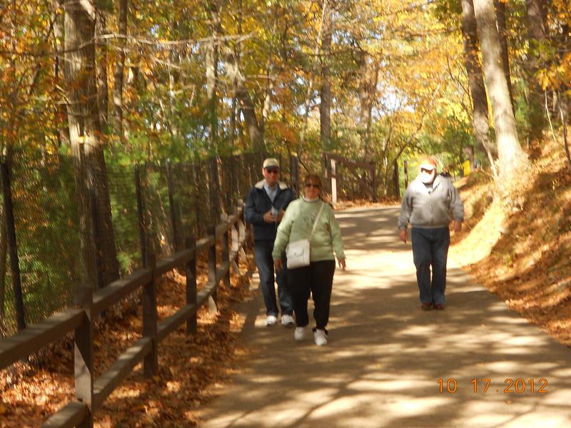Walking around Walden